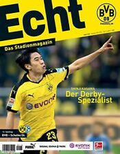 Programmheft # 133 - BVB 09 / FC Schalke 04 ~ Shinji Kagawa ~ Matchday Magazine