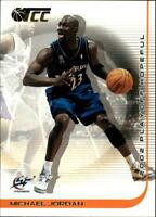 2001-02 Topps TCC Basketball #100 Michael Jordan Washington Wizards