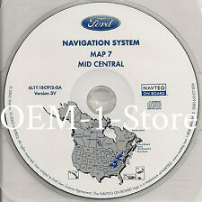 03 04 2005 FORD EXPEDITION EDDIE BAUER NAVIGATION MAP CD 7 MID CENTRAL KY OH 3V