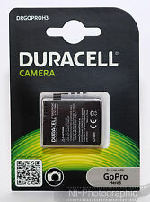 Duracell DRGOPROH3 GoPro Hero 3 (AHDBT-301/302) Rechargeable Battery UK Stock