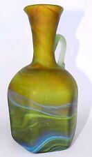 "5.7"" Antique Ancient Holy Land PHOENICIA Hand Made Glass Jug Vase Pitcher Bottle"