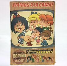 VAMOS A LA CAMA LAS FANTASTICAS AVENTURAS DE FAMILA TELERIN. ALBUM BRUGUERA 1965