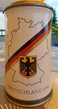 Bierkrug mit Deckel 97% Zinn der Henninger-Brauerei Sammelobjekt Deutschland