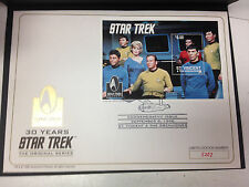 STAR TREK THE ORIGINAL SERIES CACHE ENVELOPE COMMEMORATING 30 YEARS OF STAR TREK