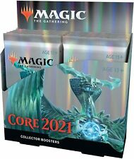 Mtg Magic The Gathering Core Set 2021 Collector Booster Box 12 Packs Ships 7-3