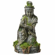 New listing Blue Ribbon Exotic Environments Ancient Buddha Statue W/Moss Aquarium Ornament