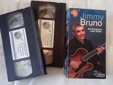 Hotlicks set of 2 Vhs Lessons Jimmy Bruno No Nonsnse Jazz Guitar