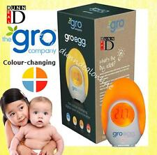 Baby Child Gro Egg Room Thermometer Colour Changing Digital LCD Night Light