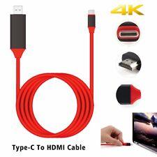 USB 3.1 Type C USB-C à 4K HDMI HDTV Câble Adaptateur Pour MacBook MacBook Pro