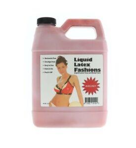 Ammonia Free Liquid Latex Body Paint 32oz Burgundy