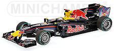 1 18 Minichamps red Bull Rb6 GP Abu Dhabi World Champion Vettel 2010