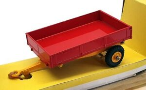 Dinky Toys Diecast 319 - Weeks Farm Tipping Trailer - Red/Yellow