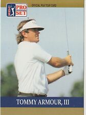 Tommy Armour, III #3 1990 Pro Set PGA Tour Golf Special Inaugural