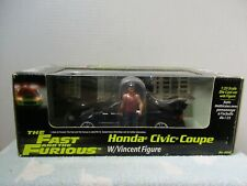 1/25 SCALE REVELL FAST & FURIOUS HONDA CIVIC COUPE W/ VINCENT FIGURE