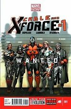 CABLE AND X-FORCE #1 MARVEL NM 1st PRINT