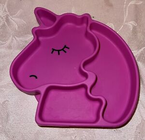 Bumkins Baby Suction Cup Unicorn Plate