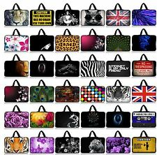 """Soft Laptop Sleeve Handle Bag Cover Case For 16"""" 17""""17.3"""" Samsung DELL HP Lenovo"""