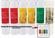 Watts Premier RO-Pure PLUS (silver) Replacement Filters Annual Six Pack