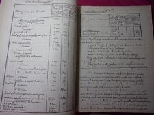 MANUSCRIT MILITARIAT / TACTIQUE APPLIQUÉE D'INFANTERIE 1881