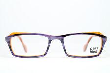 PAR BLEU Brille Eyeglasses Gafas Bril Glasögon 125-10050 Lila Purple Nerd Fuchsi