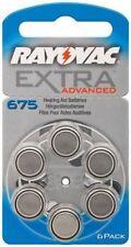 Rayovac 6x Rayovac Extra Advanced PR44/375A zinc-air hearing aid cell 1.4V 49591