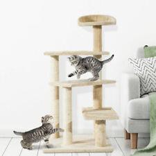 PawHut Cat Tree Scratcher Climbing Post Kitten Pets Scratching Furniture Tower