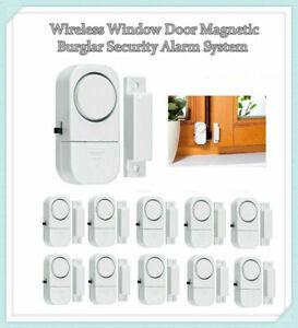 Wireless Entry Alarm Home Security Door Window Magnetic Sensor Auto Dial Burglar
