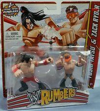 WWE RUMBLERS YOSHI TATSU & ZACK RYDER 2 PACK ACTION FIGURES NEW FREE SHIPPING