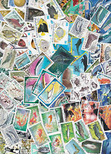 Collection 100 diff. stamps - Vissen / Fish / Fische (Y1011.B)