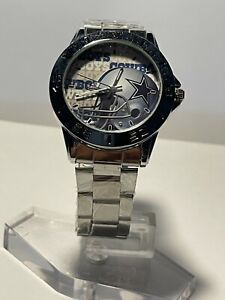 DALLAS COWBOYS NFL Team Stainless Steel Silver Watch NEW