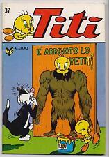 TITI' N.37 editrice Cenisio warner bros looney tunes italian comics silvestro