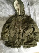 Boys George Parka Style winter coat 4-5 years