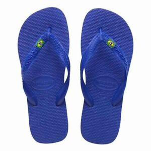 Havaianas Brasil Logo Men's Flip Flops Sandals Vary Size & Colors US Seller