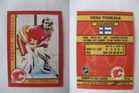 2015 SCA Vesa Toskala Calgary Flames goalie never issued produced #d/10