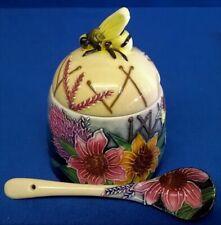 Old Tupton Ware Honey Pot Summer Bouquet Patt Tw1360