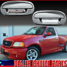 1997-2002 2003 FORD F150 F-150 Chrome 2 Door Handle COVERS Trims W/KPH W/O PSKH