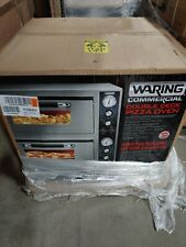 Waring Wpo750 Commercial Double Ceramic Deck Pizza Oven New In The Box