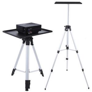Laptop Stativ Behälter Projektor Beamer Ständer mit Platte Höhenverstellbar NEU+