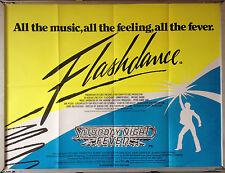 Cinema Poster: FLASHDANCE/SATURDAY NIGHT FEVER 1983 c. (Double Bill Quad)