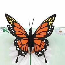 Orange Butterfly 3d pop up card