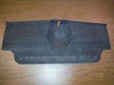 Miatamecca Used Black Trunk Latch Cover Carpet 96-97 Miata MX5 NA0168891A04 OEM