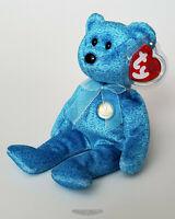🚦Ty Beanie Baby/Babies CLASSY Bear Peoples Beanie 2001 - NEW - MWMT