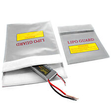 RC LiPo Li-Po Battery Fireproof Safety Guard Safe Bag Charging Sack Pb