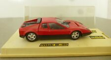 Solido Toys Hi-Fi Series 1989 Ferrari BB Sports Racing Car  Red Version