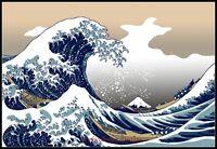 The Great Wave Off Kanagawa - DIY Counted Cross Stitch Patterns Needlework