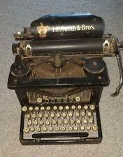 Antique LC Smith & Bros Model #8 Typewriter *FREE SHIPPING*