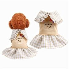 Pet Dog Dress Yorkies Chihuahua Dog Clothes Wedding Dog Costume For Small Dogs