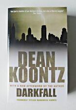 DARKFALL by Dean Koontz (Paperback Book, 2007)