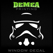 Storm Trooper - Personalized Window Car Decal/Sticker - 5""