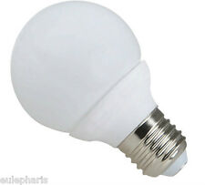 Bombilla E27 GLOBO 60mm 28 LED SMD 4.5W Luz Blanca 6400k 420 Lumens BAJO CONSUMO
